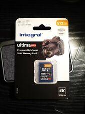 512Gb SD Card 4K Ultra-HD Video High Speed Memory Card SDXC 100MB/S UHS-I U3 C10