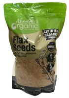 Absolute Organic Flax Seeds 1.5kg Certified Organic Superfood Omega 3 Vegan