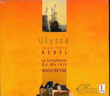 Hugo Reyne Ulysse Jean-Fery Rebel CD NEW La Simphonie duy Marais Celine Ricci