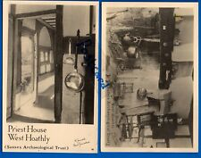 2 POSTCARDS PRIEST HOUSE WEST HOATHLY SUSSEX ARCHAEOLOGICAL TRUST NR CRAWLEY
