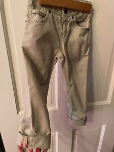 Burberry Boys Chino Beige Khaki Pants Size 5