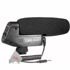 Vidpro XM-45 Microphone for Canon EOS M50 M6 Mark II Mirrorless Digital Camera