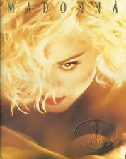 MADONNA 1990 Blond Ambition Tour Concert Program Programme Book