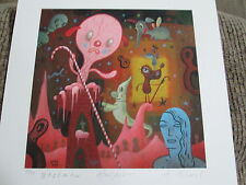 Hello Portfolio Mark Ryden signed print set Gary Baseman Tim Biskup 6 prints