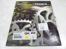 COURONNE ACIER STEEL SPROCKET 40T FE POUR SMC BAROSSA 250 2004 3523.40