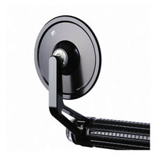 Motogadget M View Cafe Glassless Bar End Motorcycle Wing Mirror - Black