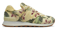 New Balance Womens 574 Stone Wash Trainers Floral