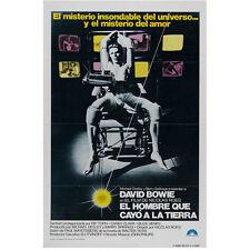 David Bowie Spanish in Chair El Hombre Que Cayo a La Tierra  8 x 10 Inch Photo