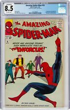 The Amazing Spider-Man #10 (Mar 1964, Marvel Comics) CGC 8.5 VF+ | The Enforcers
