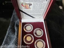 Stalin's Death Sentence Coins - Collection of 4 Silver Kopek Coins - Great Grade