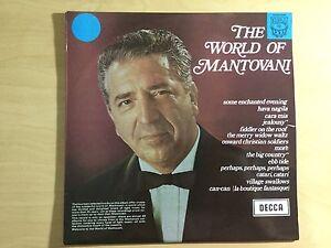 Vinyl LP - The World of Mantovani - 14 selected tracks
