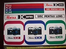 Asahai Pentax VINTAGE 1970s Grande Decalcomania Sticker Negozio Segno non smalto da collezione