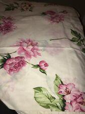 Westpoint Stevens Jumbo King Pink Floral Single Pillow Sham Never Slept On