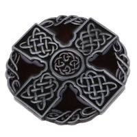 Retro Men's Celtic Cross Knot Belt Buckle Cowboy Biker Mens Belt Buckles