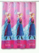 Disney Frozen Fabric Microfiber Shower Curtain - Elsa & Anna