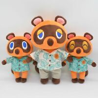 New Animal Crossing Horizons Tom Nook Timmy Tommy Plush Toy Stuffed Doll Gift X1