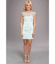 French Connection Fast Encrusted Lace Embellished Party Bodycon Dress 14 42