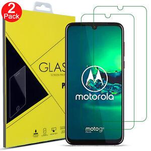 Tempered Glass Screen Protector For Motorola Moto G8 Power LITE G6 Play G7 PLUS