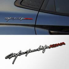 Slim Lettering Emblem for 2018 2019 Hyundai Kona