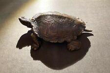19th Century Antoine-Louis Barye Bronze Turtle n°2 Very Rare Theme Sculpture XIX