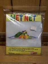 "Vintage Bajer ""WET NET"" Corner Bath Toy Organizer Bathroom Toy Holder Storage"