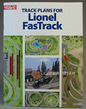 KALMBACH TRACK PLANS FOR LIONEL FASTRACK train layout O GAUGE design 108804 NEW