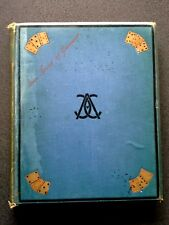 ILLUSTRATED GAMES OF PATIENCE ANTIQUE BOOK  HB 1887 CADOGAN playing card games