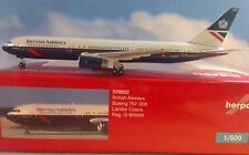 Herpa Wings 1:500 529822  British Airways Boeing 767-300 Landor Colors G-BNWN