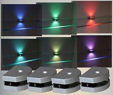3-Seiten LED RGB Clip Glasbodenbeleuchtung Glaskantenbeleuchtung Glas Mod.2298