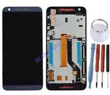 ECRAN LCD + VITRE TACTILE SUR CHASSIS BLOC COMPLETE POUR HTC DESIRE 626 BLEU
