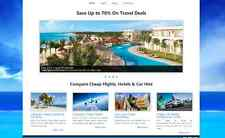Travel Agency Flights Hotels Compare website for sale Fully Automated