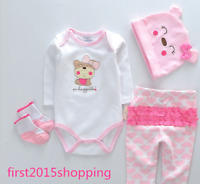 "Cute 22"" Reborn Baby Girl Clothes Newborn Bebe Doll Clothes (Not Included Doll)"