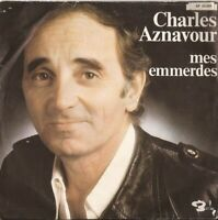 "Charles Aznavour - Mes Emmerdes (7"", Single) (Very Good Plus (VG+))  - 411889728"