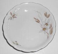 Crown Heiden Germany Porcelain China Tan Floral w/ Gold Soup Bowl