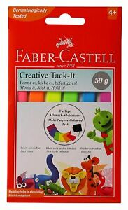 Faber-Castell Creative Tack-It Removable & Reusable Adhesive Multicolor Use Home