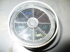Triumph Stag Dash Indicator Lamp Turn Signal Choke Beam Fuel Warning Light Lucas