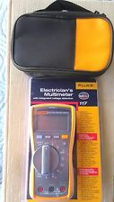FLUKE 117 Meter  Electricians / HVAC MultiMeter New sealed in box from the USA