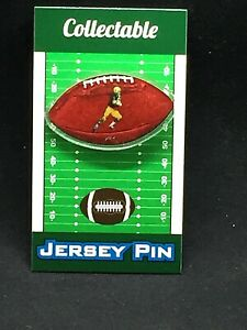 Green Bay Packers lapel pin-Collectible-Super Bowl Champions-Paul Hornung