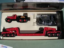 DIAMOND T BALLAST GIRDER TRAILER  & LOCOMOTIVE ANNIS&Co LTD 1/50 CORGI