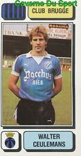 084 WALTER CEULEMANS BELGIQUE CLUB BRUGGE STICKER FOOTBALL 1983 PANINI