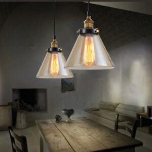Kitchen Glass Pendant Lighting Bar Lamp Ceiling Lights Home Modern Pendant Light