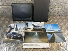 BMW 5 SERIES SALOON F10 OWNERS HANDBOOK USER MANUAL & WALLET SET