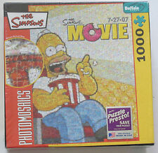 The Simpsons Movie Jigsaw Puzzle1026 Piece Photomosaics  New