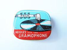Grammophon NADELDOSE PRYM 555 gramophone needle tin