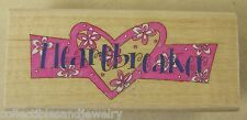 "Heartbreaker Rubber Stamp Valentine Heart by Me & My Big Ideas MRS10617 2-7/8"""