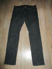 H&M Herrenjeans, schwarz, Skinny Low Waist, 34/32