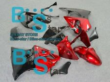 Red black INJECTION Fairing Plastic Kit Set Kawasaki ZZR600 05-08 61 A1