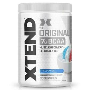 Scivation Xtend BCAA Amino Acid Glutamine Powder 30 Servings Intra Workout*NEW*