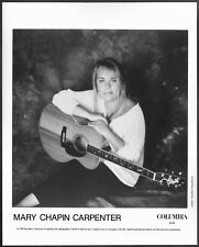 ~ Mary Chapin Carpenter Original 1990s Columbia Promo Portrait Photo Folk Pop