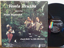 MARTINCIC-KALIK BAND w/ Violet Ruparcich RARE EXC GREYCO LP Button Box-Tamburica
